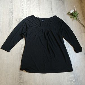 Women's 3/4 sleeve top a.n.a brand loose fit